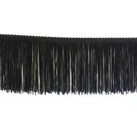 Frange noire 10 cm