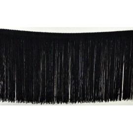 Frange noire 20 cm